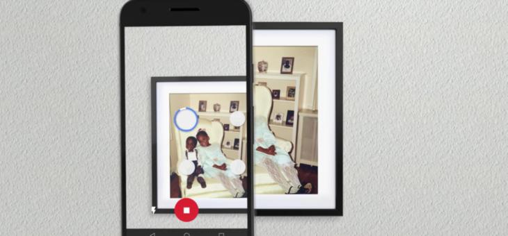 Google PhotoScan: Digitalizzare le vecchie foto direttamente da iPhone